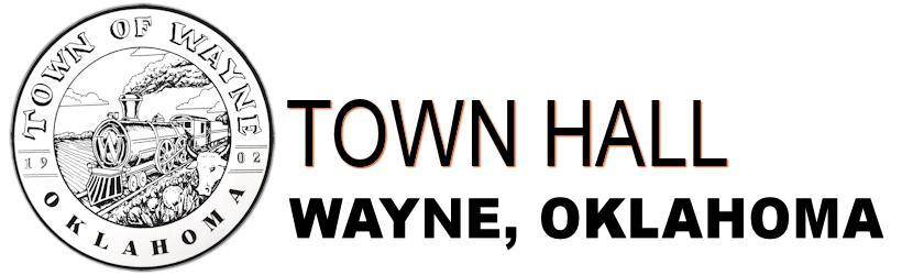 Logo for TOWN OF WAYNE